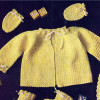 Vintage Crochet Baby Jacket Pattern