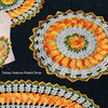 Vintage Crochet Round Flower Hot Mats Pattern