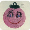 Crochet Smiley Face Potholder Pattern