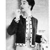 Vintage Button Trimmed Cardigan Knitting pattern