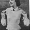 Easy Square Neck Jerkin Knitting Pattern with Side Buttons