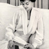 Collared Bed Jacket Knitting Pattern, Vintage 1950s