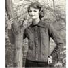 Moss Stitch Knitted Cardigan Pattern