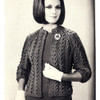Chanel Jacket Knitting Pattern, Open Front, Elbow Length Sleeves