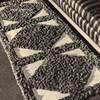 Vintage Runner Rug Pattern, Diamond Motif, in Loop Stitch