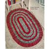 Fringed Oval Rug Crochet Pattern