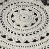 Vintage Crochet Doily Rug, Coats & Clarks