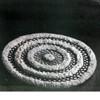 Round Puff Ball Crochet Rug pattern
