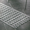 Vintage Crochet Area Rub Pattern in Cable Stripes