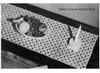 Buttercup Crochet Runner Pattern, Vintage 1950s