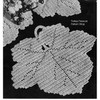 Maple Leaf Crochet Place Mat Pattern