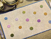 Vintage Coin Dots Crocheted Place Mat Pattern