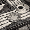 Woven Stripes, Crochet Placemats Pattern