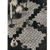 Flower Medallion Crochet Runner Mats Pattern