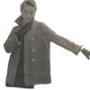 Misses Hip Length Knitted Box Coat Pattern