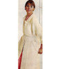 Floor Length Knitted Coat Pattern, Vintage 1960s