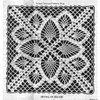 Crochet Pineapple Flower Square Pattern