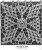 Mail Order Square Crochet Pattern Stitch Illustration