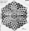 Crochet Flower Medallion Pattern, Laura Wheeler 647