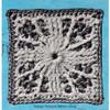 Crocheted Carolina Modern Square Pattern for Bedspread