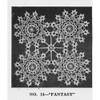 Round Lace Crochet Medallions Pattern, Vintage 1950s