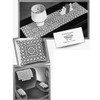 Vintage Crochet Scarf Mats in Medici Star Block
