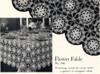 Crochet Flower Fable Tablecloth Pattern