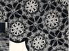 Large Round Flower Crochet Medallions Pattern