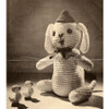 Sitting Dog Crochet Pattern