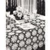 Tablecloth Crochet Pattern, Queen Anne Lace