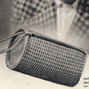 Crocheted Tube Bag Pattern, Vintage 1930s