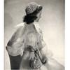 Evening Calot Crochet Pattern with Drawstring Bag