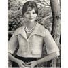 Crochet Short Blouse, Bell Sleeves Pattern