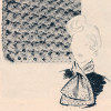 Free Ascot Crochet Pattern, Vintage 1950s