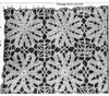 Flower Medallion Crochet Illustration, Mail Order 7008