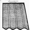 Crocheted Dress Pattern Stitch Detail, Laura Wheeler 736