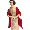 Checked Evening Dress Crochet Pattern