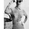 Long Sleeve Knitted Shirtwaist Dress Pattern
