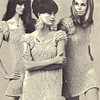 Vintage 1960's Knitted Mini Dress pattern