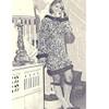 Garter Stitch Knitted Mini Dress pattern on Big Needles