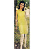 Knitted Two Piece Ribbed Dress Pattern