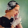 Vintage Crochet Butterfly Hat and Gloves Pattern