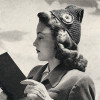 Pointed Crochet Hat Pattern, Vintage 1940s