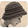 Casual Cloche Hat Crochet Pattern