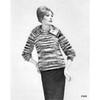 Mahair Fantastica Knitted Pullover Pattern