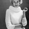 Ungers Les Coraux Knitted Pullover Pattern