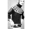 Nylo Germantown Knitted Sweater Pattern