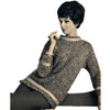Trimmed Knitted Pullover Pattern in Spinnerin Tempo