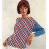Knitted Plaid Sweater Pattern in Columbia Minerva Reverie Yarn