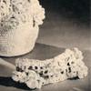 Crochet Flower Tiara Pattern, Vintage 1940s